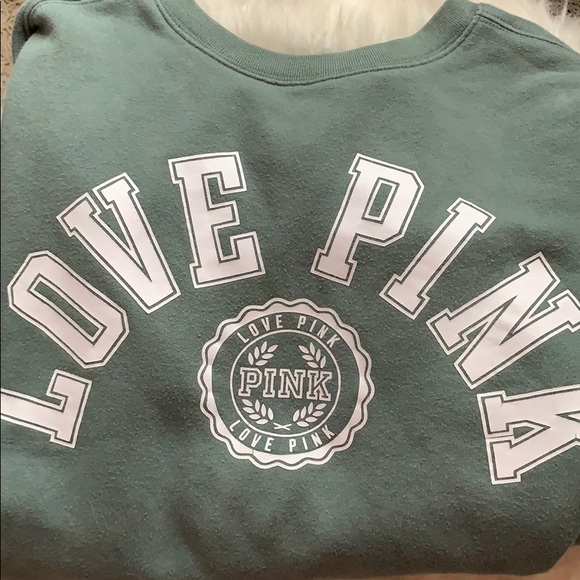 PINK Victoria's Secret Tops - PINK Long Sleeve pullover